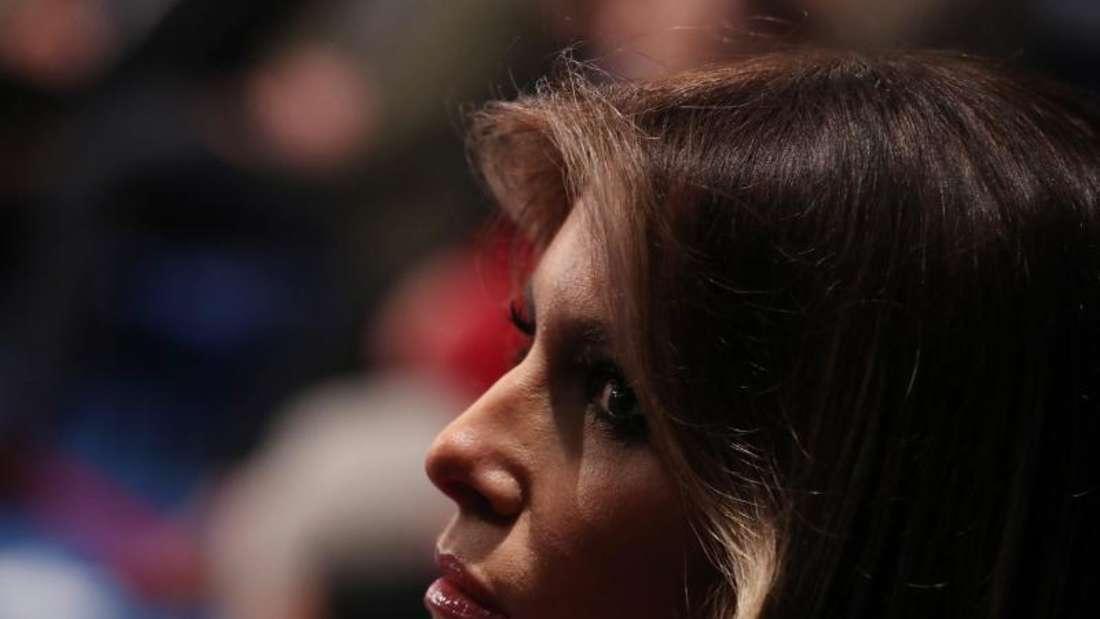 Haben Melania und Donald Trump eine Krise?Foto: Andrew Gombert