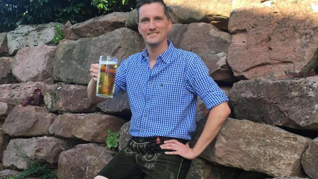 Patrick Karchs Bewerbung um das Amt der Bayerischen Bierkönigin wurde abgelehnt. Foto:Patrick Karch/dpa