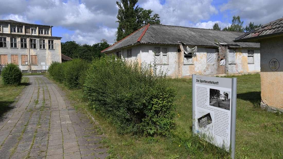 Das ehemalige Olympische Dorf Berlin im brandenburgischen Elstal.