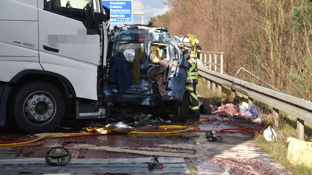 Unfall A5 Gestern