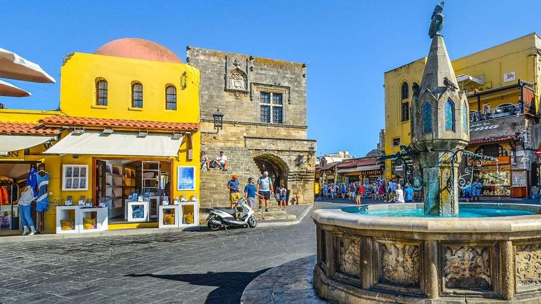 Mehr als 3.000 Sonnenstunden pro Jahr: Rhodos zählt zu den sonnigsten Regionen Europas.