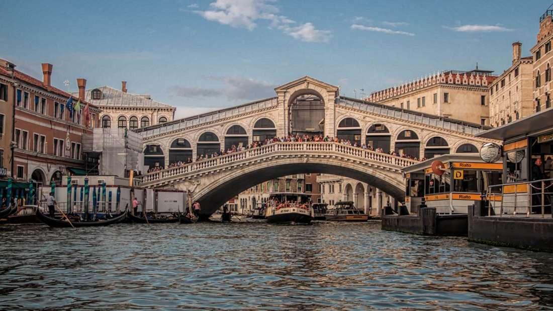 4. Venedig: Mit 344 Euro ist die Schmucke italienische Stadt auf Platz vier im Ranking gelandet.