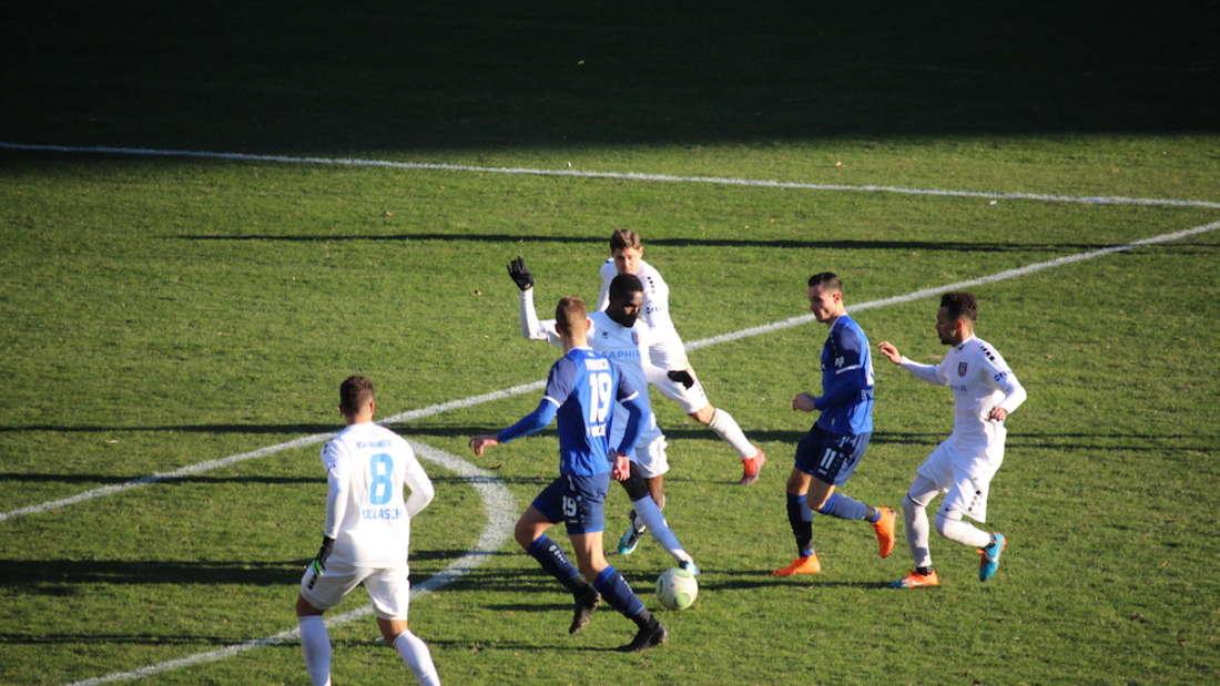 SV Waldhof verliert sein Heimspiel gegen FSV Frankfurt.