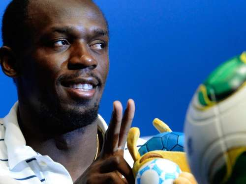 Sprint-Legende Bolt kickt bei Unicef-Gala