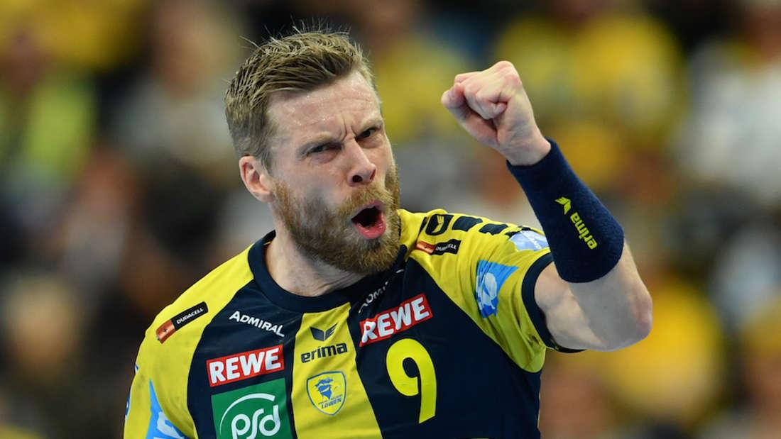 Gudjon Valur Sigurdsson ist gegen Minden bester Werfer (Archivfoto).