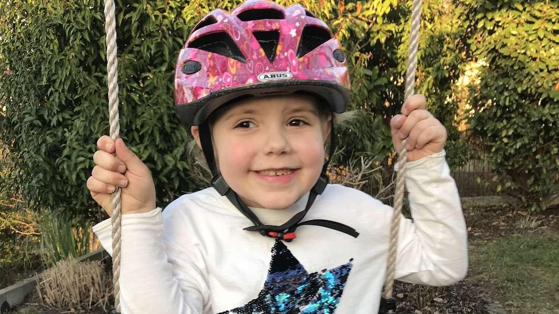 Fast ein Jahr nach der Stammzellenspende geht es der 5-jährigen Stella wieder besser.