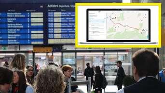 Heidelbergmannheimludwigshafen Neue Interaktive Karte Von