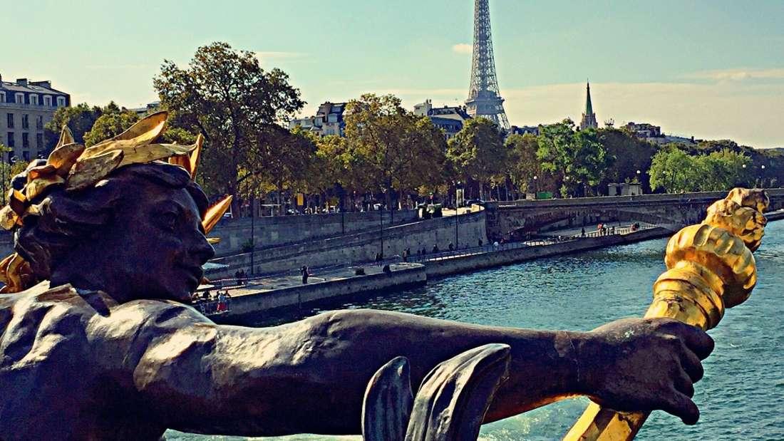 Eine Reise nach Paris im August - optimal.