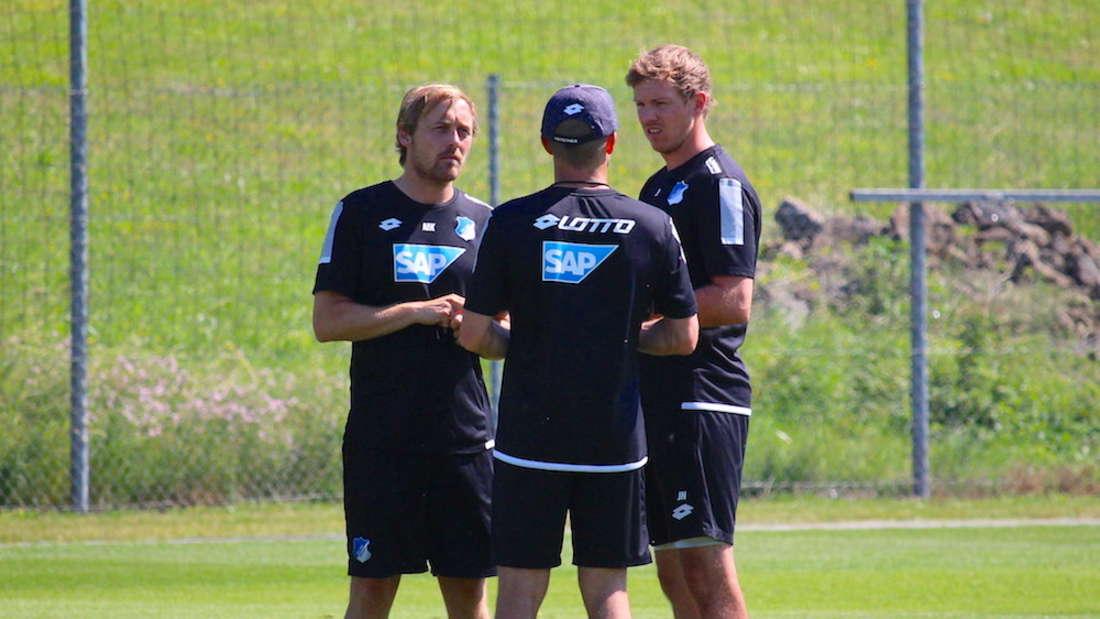 Julian Nagelsmann bittet am 1. Juli 2018 zum ersten Training.