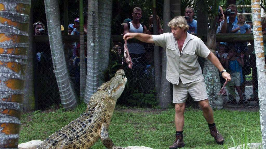 """Crocodile Hunter"" Steve Irwin"