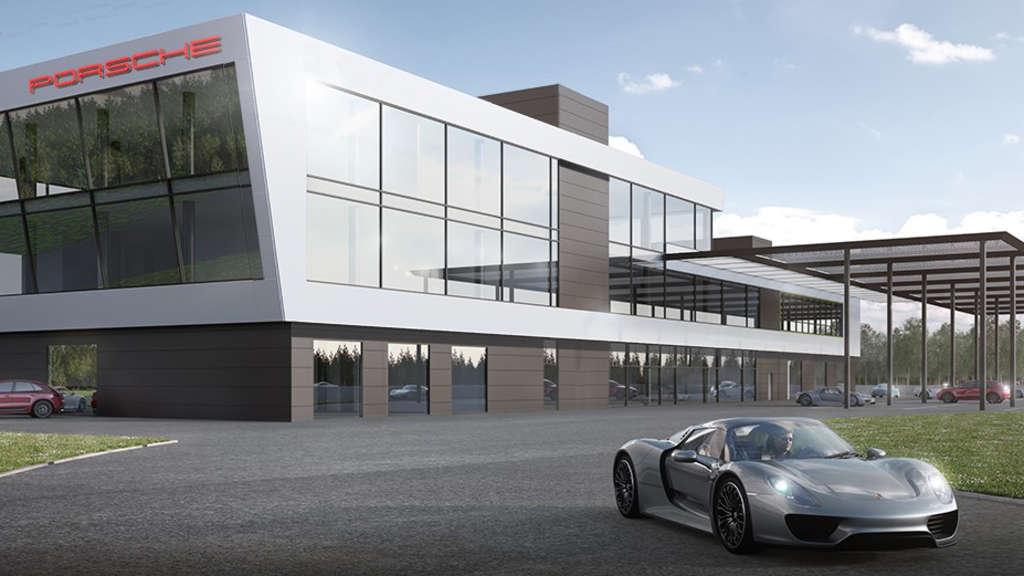 """Porsche Experience Center >> Hockenheim: Porsche eröffnet """"Experience Center"""" auf dem ..."""