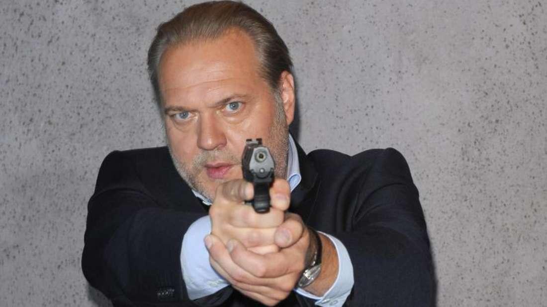Der Kriminalhauptkommissar Richard Voss (Jan-Gregor Kremp) ist weiterhin sehr beliebt. Auch an diesem Freitag schauten die meisten TV-Zuschauer die ZDF-Serie «Der Alte». Foto: Ursula Düren