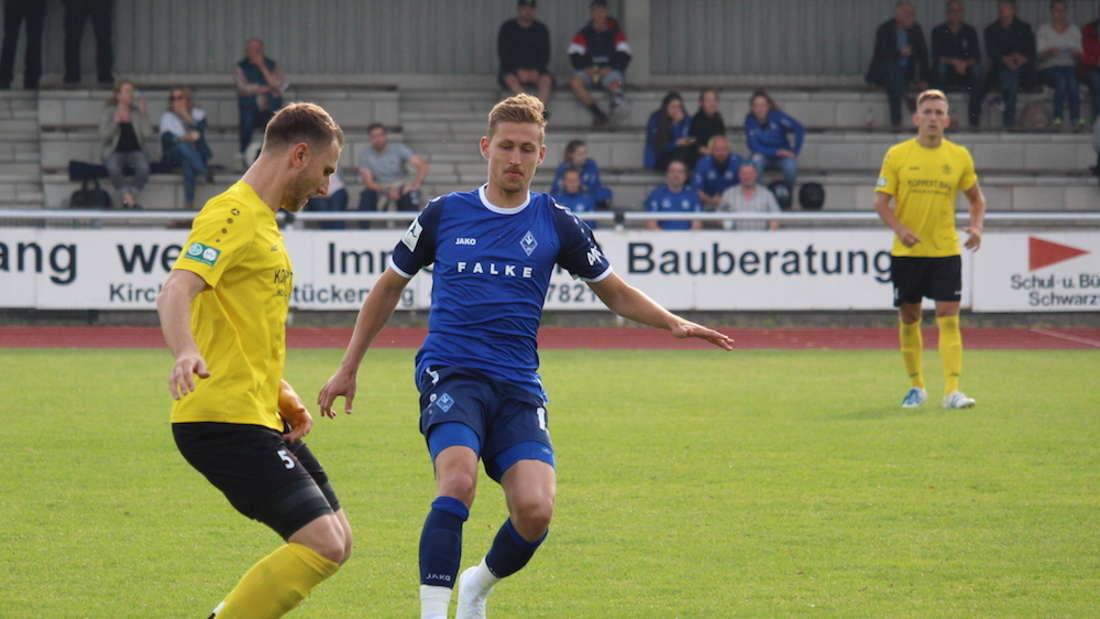 Testspiel: SV Waldhof Mannheim gegen SG Heidelberg-Kirchheim.
