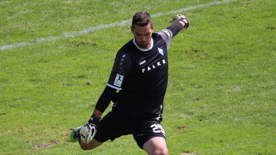 SVW-Keeper Markus Scholz hat sich mit dem SV Waldhof zum dritten Mal in Folge für die Aufstiegsspiele qualifiziert.