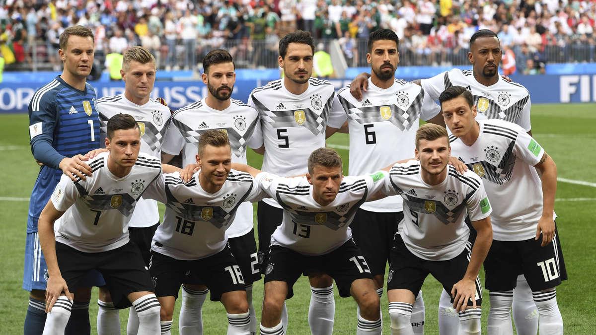 Deutschland Aufstellung 2020