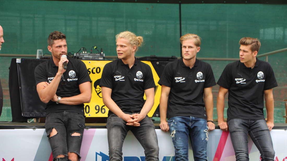 Der SV Sandhausen stellt seine Mannschaft für die Saison 2018/19 vor.