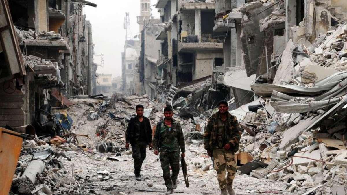 rebellen geben mehrere st dte im s den syriens auf politik wirtschaft. Black Bedroom Furniture Sets. Home Design Ideas