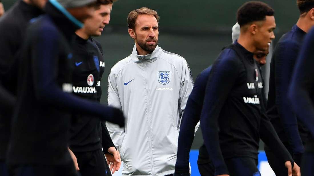 Auf dem Trainingsplatz hat Southgate seine Auswahl nicht erst kurz vor der WM, sondern seit Monaten auf den Ernstfall vorbereitet