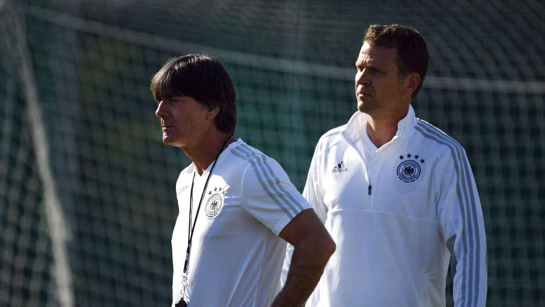 Erhalten massive Kritik aus den eigenen Reihen: Joachim Löw und Oliver Bierhoff.