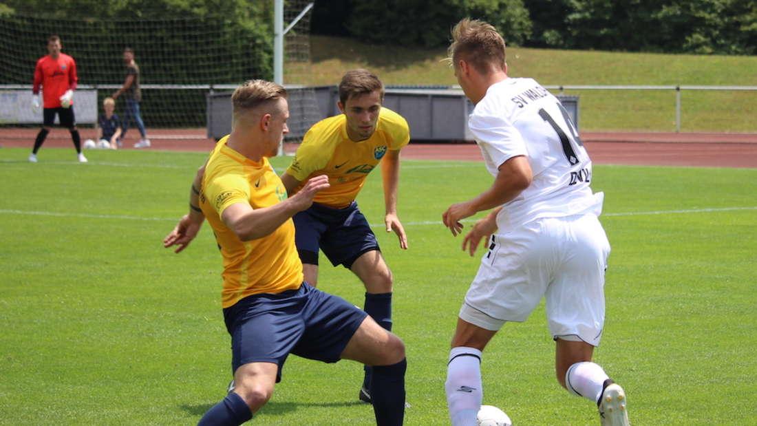 Testspiel: ASC Neuenheim gegen SV Waldhof Mannheim.