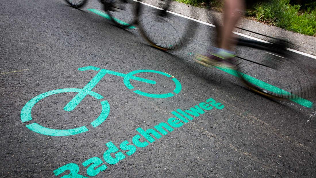 Der Baubeginn für den Radschnellweg zwischen Mannheim und Heidelberg ist für Herbst 2022 geplant.