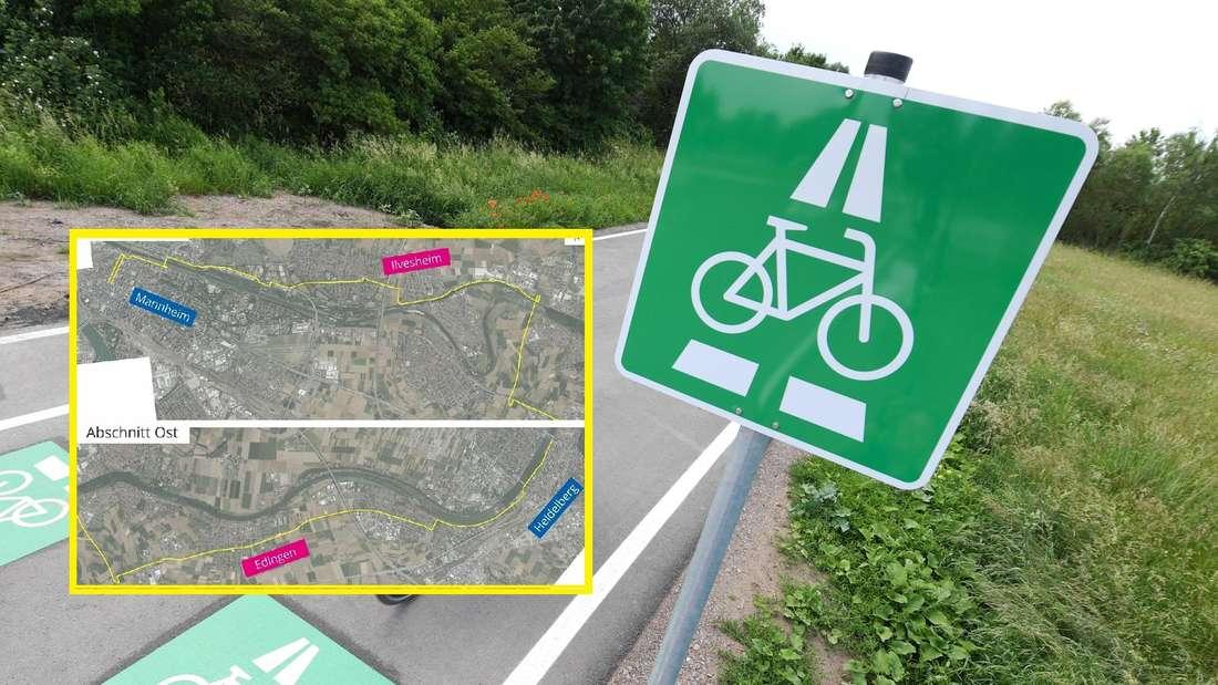 Radschnellweg zwischen Mannheim und Heidelberg: Trassenverlauf steht fest!