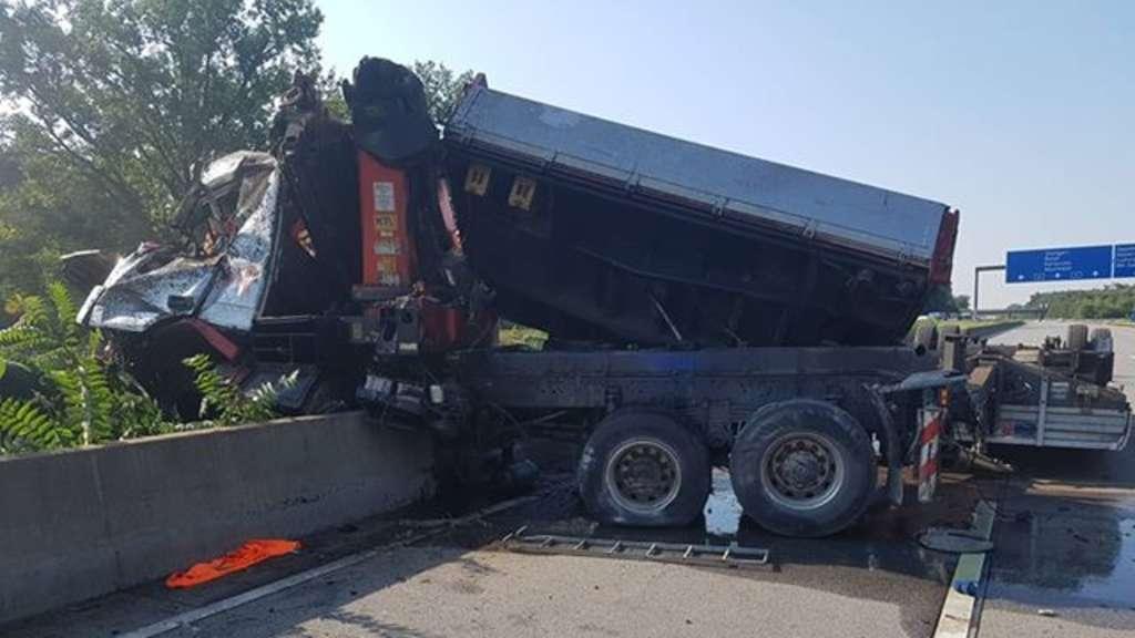 A67 Unfall Heute