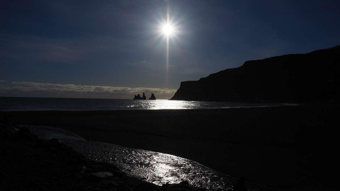 10. Vik Beach, Island
