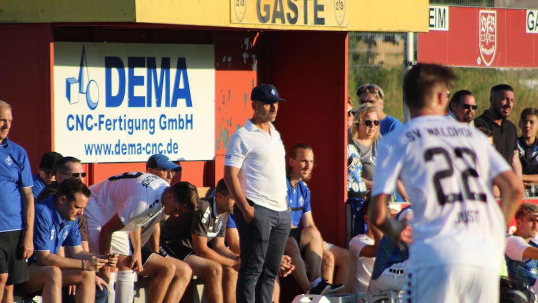 SVW-Coach Bernhard Trares ist mit der Leistung seiner Mannschaft sicherlich nicht zufrieden gewesen.
