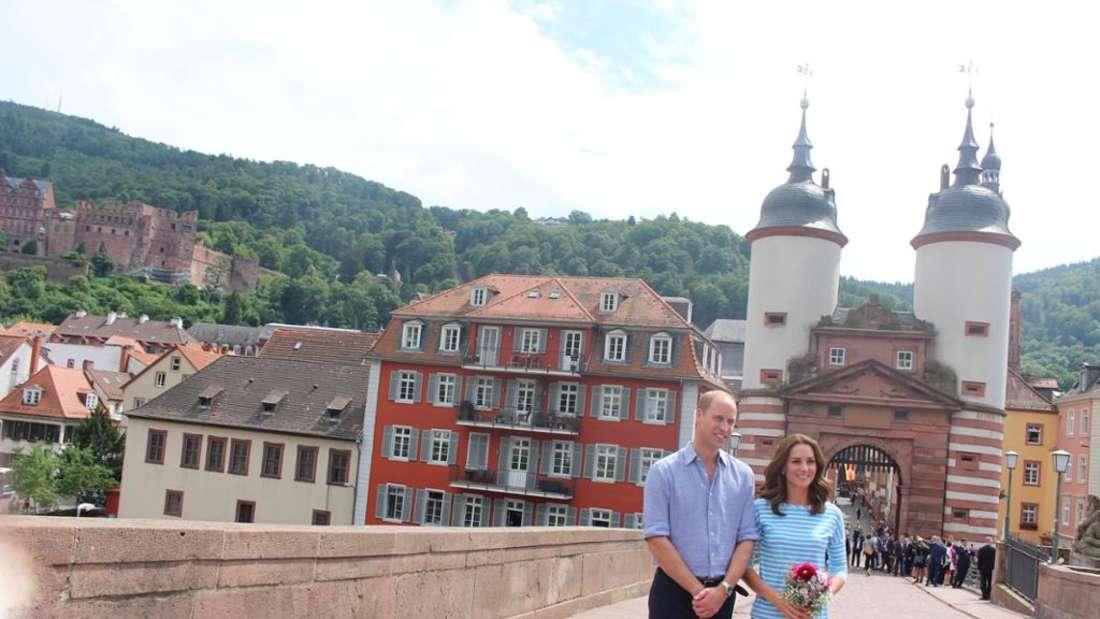 Die schönsten Fotos vom royalen Besuch in Heidelberg
