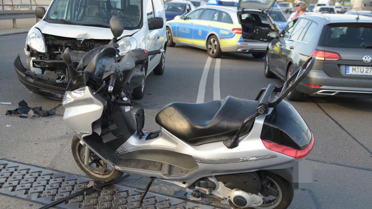 Mannheim Innenstadt Unfall Auf Jungbuschbr Cke Zwischen