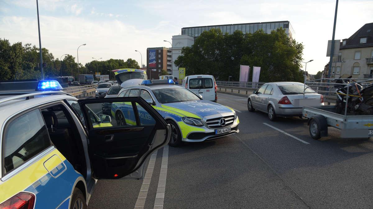 Fotos Mannheim Innenstadt Unfall Auf Jungbuschbr Cke