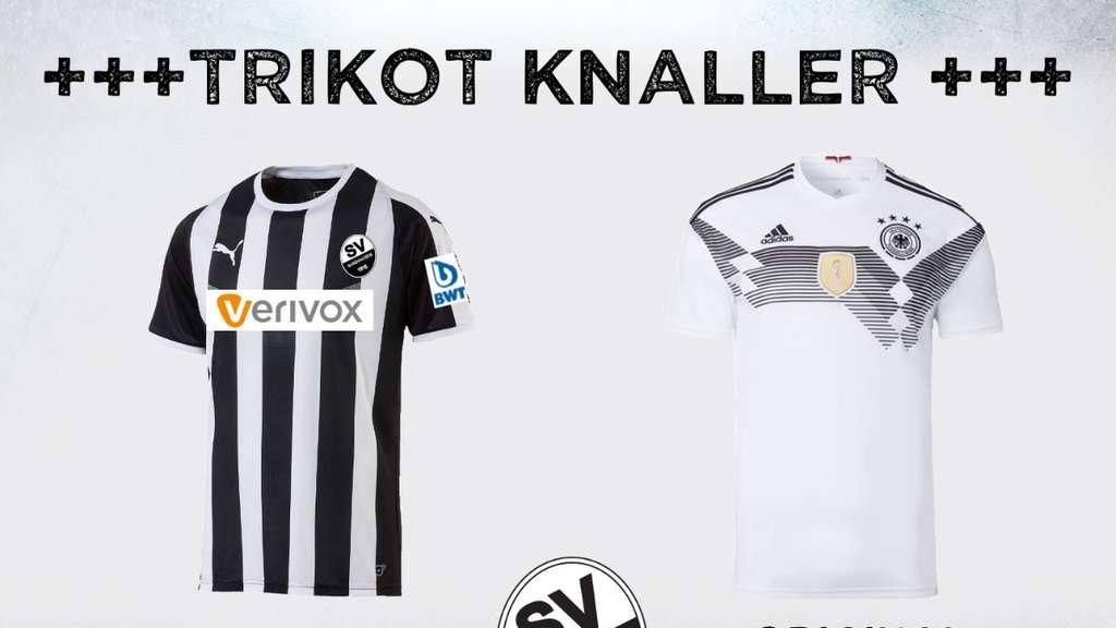 SV Sandhausen bietet DFB-Trikot kostenlos an und sorgt für Aufsehen ...