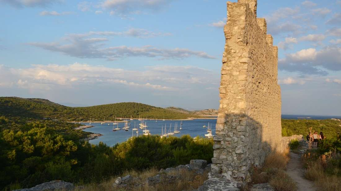 Žirje, Insel vor Šibenik, Kroatien
