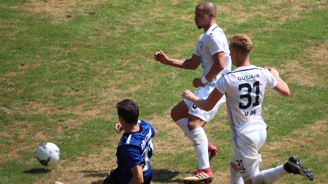 Regionalliga Südwest - 1. Spieltag: SV Waldhof Mannheim – SSV Ulm 0:1 (0:1).