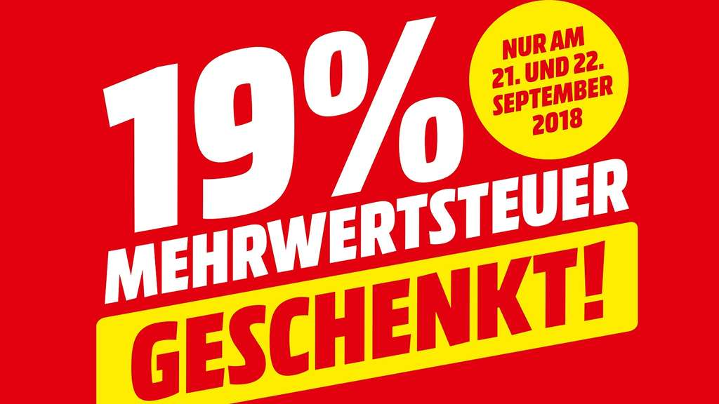 Mediamarkt Sd Karte.Nur Am 21 Und 22 September Mediamarkt Heidelberg Schenkt 19