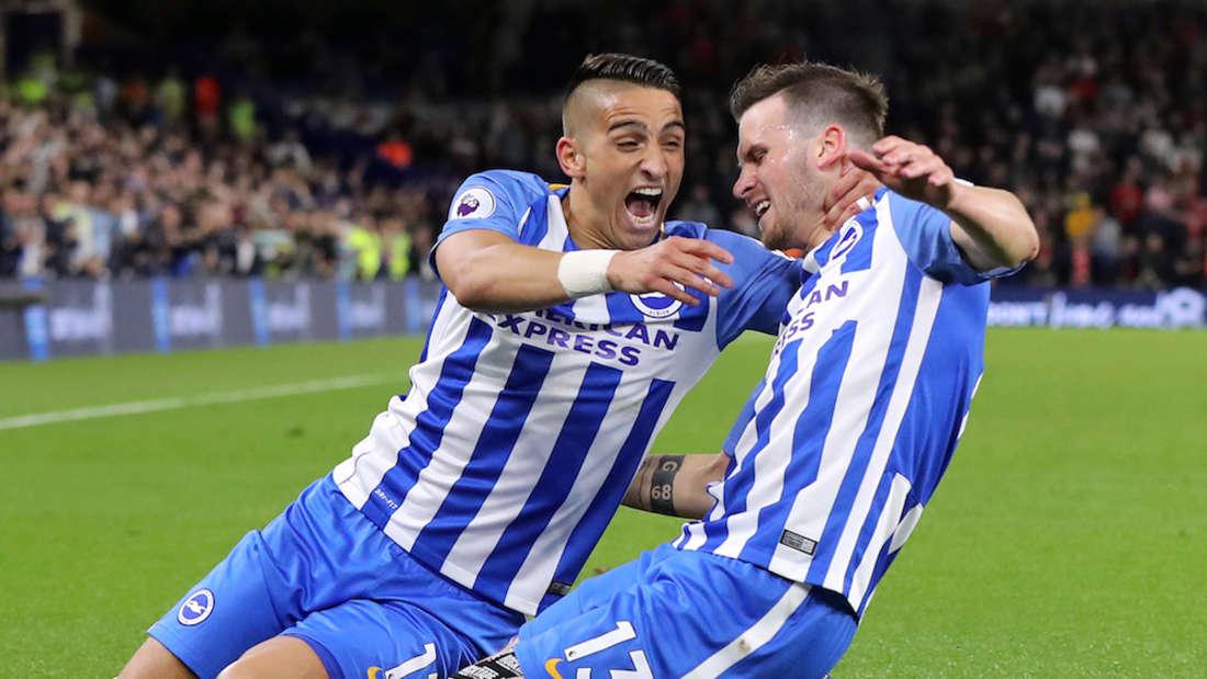 Fußball: Brighton & Hove Albion - Manchester United