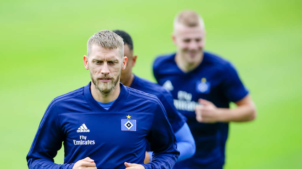 Trainingsauftakt beim Hamburger SV