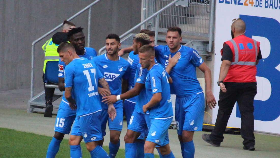 Saisoneröffnung 2018 in der Wirsol Rhein-Neckar Arena: TSG 1899 Hoffenheim - SD Eibar 1:1 (0:0).