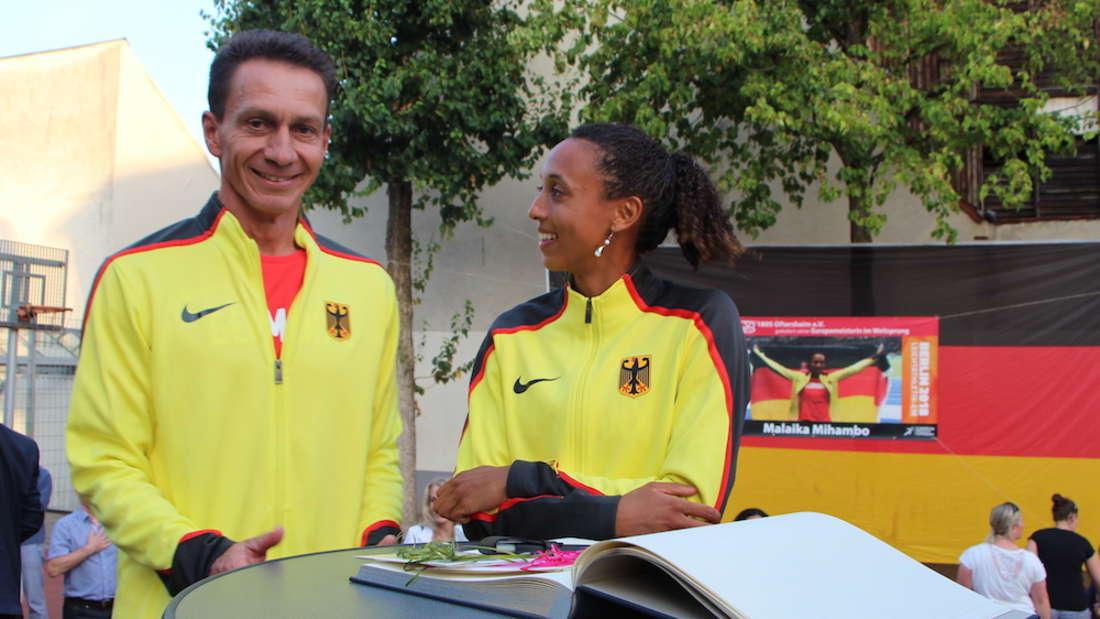Oftersheim empfängt Weitsprung-Europameisterin Malaika Mihambo.