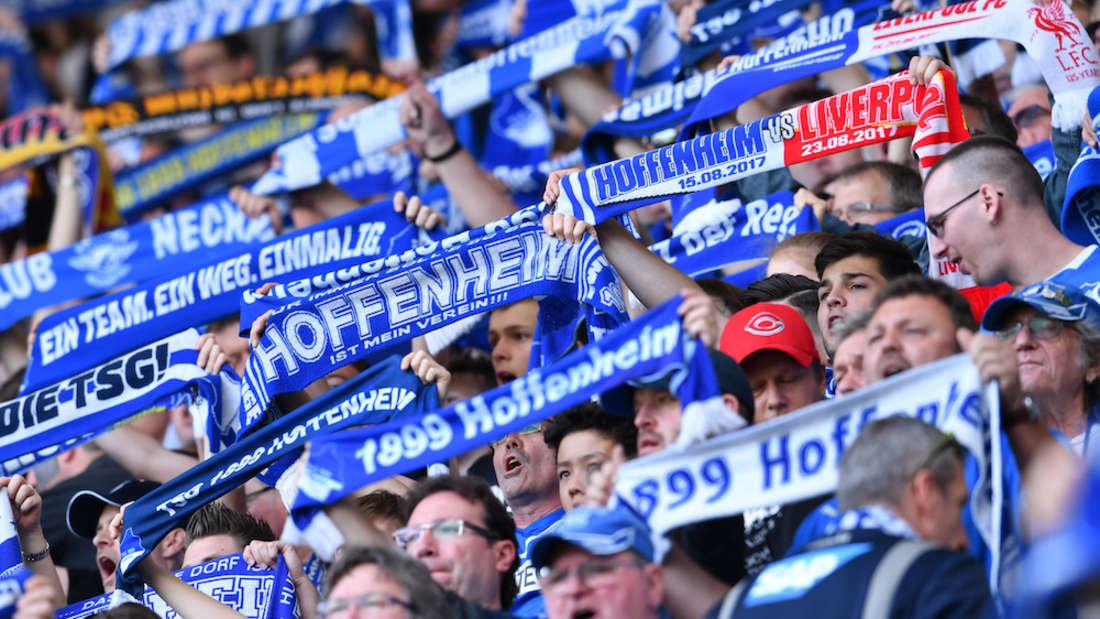Die Hoffenheim-Fans freuen sich auf den Saisonstart.