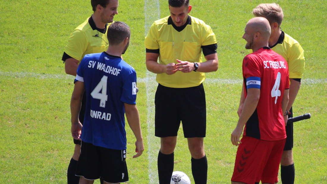 Regionalliga Südwest - 5. Spieltag: SV Waldhof Mannheim – SC Freiburg II 3:1 (0:0).