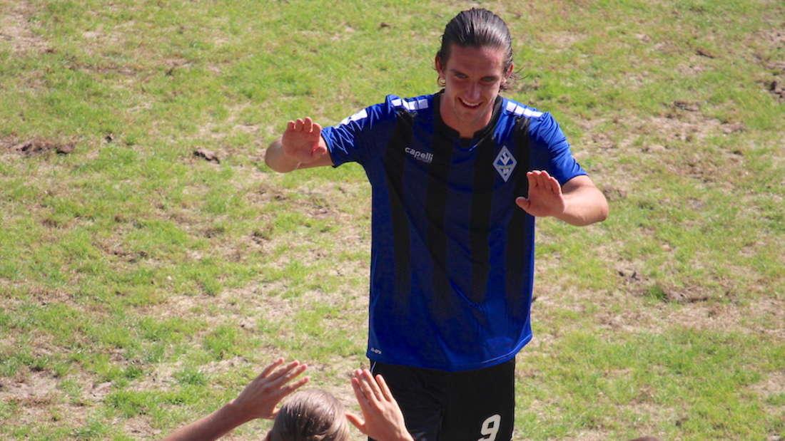 Valmir Sulejmani trifft gegen Freiburg doppelt und bereitet ein Tor vor.