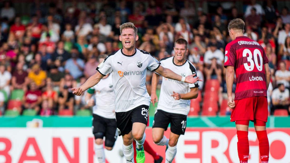 RW Oberhausen - SV Sandhausen