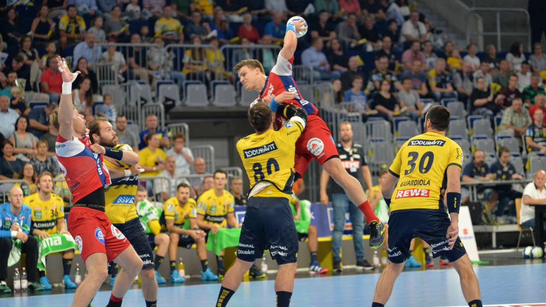 1. Spieltag in der DKB Handball Bundesliga: Rhein-Neckar Löwen - TBV Lemgo Lippe
