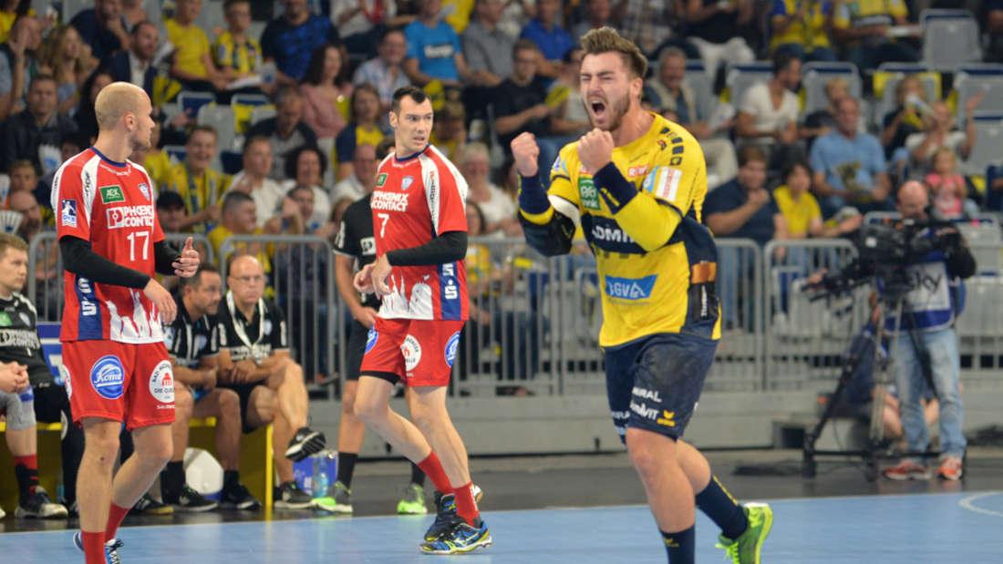 Die Rhein-Neckar Löwen gewinnen souverän gegen den TBV Lemgo.