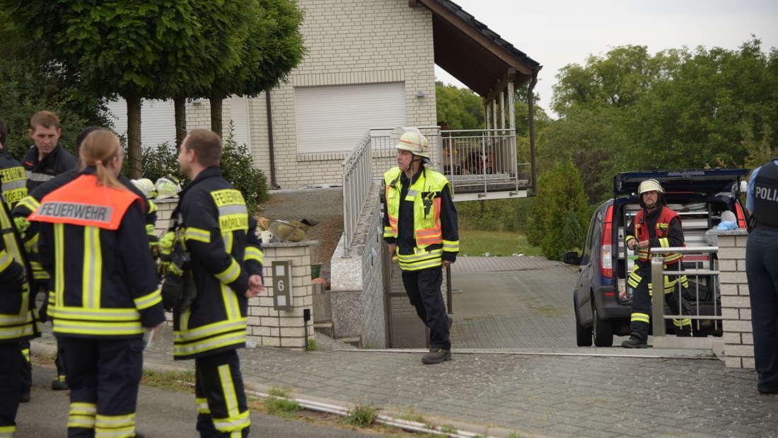 Nach einem Brand findet die Feuerwehr zwei tote Kinder. Handelt es sich um ein Familiendrama?