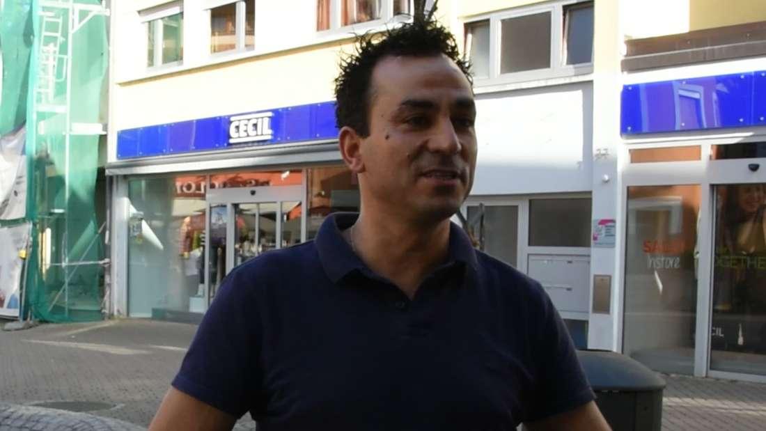 Manuel Morais ist der Besitzer des Eisladens, der Ziel des Angriffs ist.