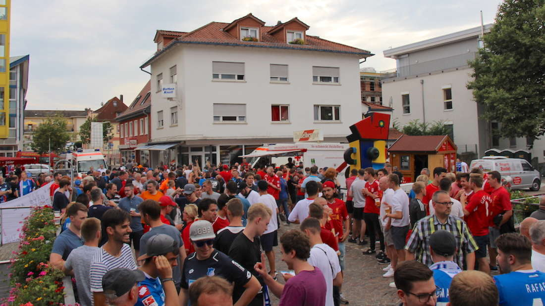Auch in der Champions-League-Saison 2018/19 wird die Stadt Sinsheim Fanfeste organisieren.