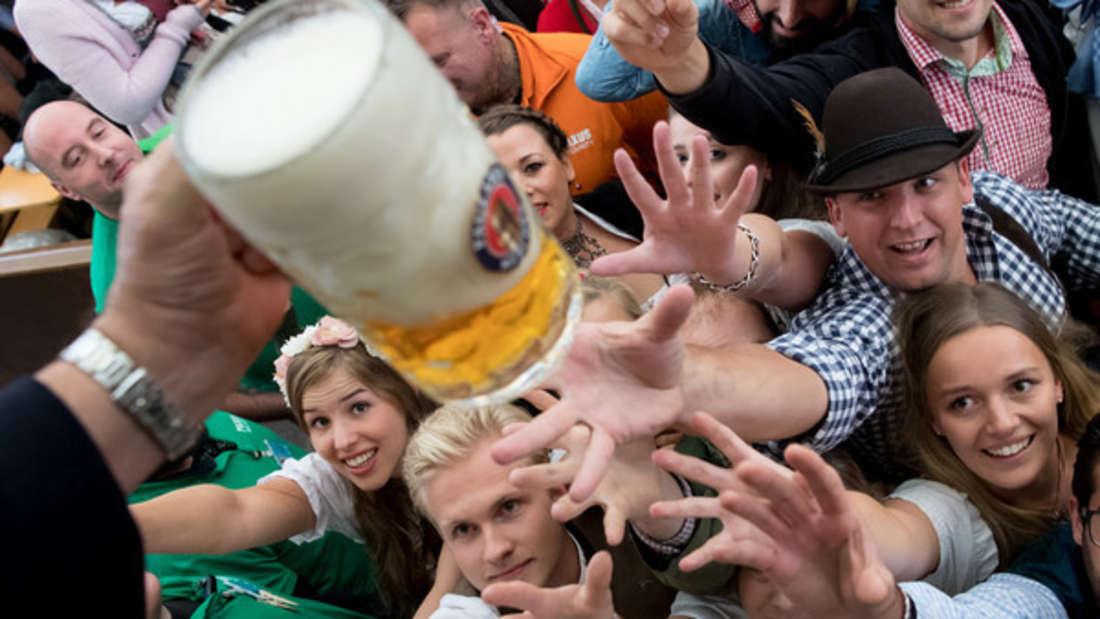 O'zapft is: Die Deutschen trinken zu viel Alkohol, sagt eine WHO-Studie.